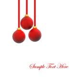 christmas ornaments Απεικόνιση αποθεμάτων