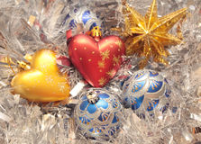 Christmas ornaments Stock Image