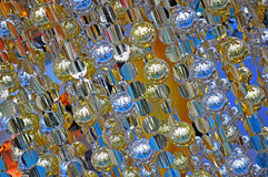 Christmas ornaments background Royalty Free Stock Photography