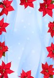 Christmas Ornaments on blue Royalty Free Stock Image