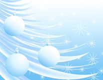 Christmas Ornaments Branch 2 Royalty Free Stock Images
