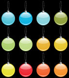 Christmas ornaments collection Stock Photo