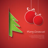 Christmas ornaments design Royalty Free Stock Images