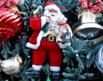 Christmas Ornaments. Displayed on a Christmas Tree Stock Photography