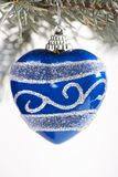 Christmas ornaments hanging Royalty Free Stock Photos