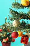 Christmas ornaments hanging from tree - Series 2 Royalty Free Stock Images