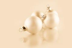 Christmas ornaments, high key effect. Christmas ornaments with high key effect Stock Images