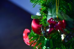 Christmas ornaments. stock photo