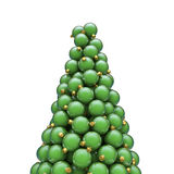Christmas ornaments peak green Stock Image