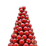 Christmas ornaments peak red Royalty Free Stock Photo