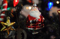 Christmas ornaments. Rio de Janeiro -Brazil - Christmas ornaments Santa Claus Royalty Free Stock Photos