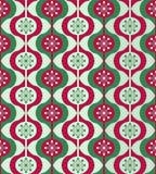 Christmas ornaments seamless pattern Royalty Free Stock Photos
