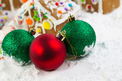 Christmas Ornaments for the Season Stock Image