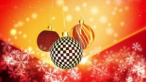 Christmas Ornaments Subtle Motion stock footage