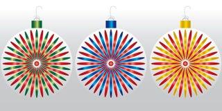 Christmas Ornaments 2015 Stock Photos