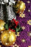 Christmas ornaments time celebration new year and xmas time Stock Photos