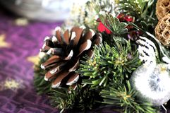 Christmas ornaments time celebration pascue day Royalty Free Stock Photos