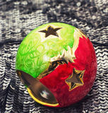 Christmas ornaments to the winter holiday Stock Photos