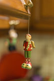 Christmas ornaments - toy boy Royalty Free Stock Image