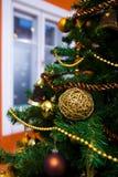 christmas ornaments tree 库存照片