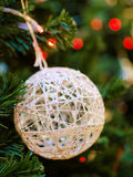 Christmas ornaments. On the Christmas tree Royalty Free Stock Photos