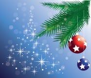 christmas ornaments tree Στοκ εικόνες με δικαίωμα ελεύθερης χρήσης