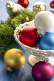 Christmas ornaments. For Christmas trees Royalty Free Stock Photos