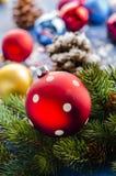 Christmas ornaments. For Christmas trees Royalty Free Stock Image