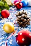 Christmas ornaments. For Christmas trees Stock Image