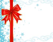 Christmas ornaments / vector background Royalty Free Stock Photo
