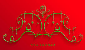 Christmas ornaments. For your design Vector Illustration