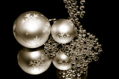 Christmas ornaments3 Stock Images