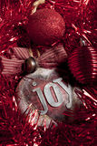 Christmas otnaments Stock Photos