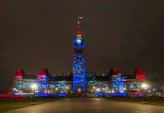 Christmas in Ottawa Royalty Free Stock Photography