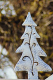 Christmas outdoor decoration Royalty Free Stock Image