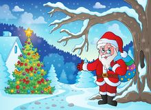 Christmas outdoor theme 1 Royalty Free Stock Photo