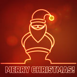 Christmas outline Stock Images
