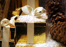 Christmas package Royalty Free Stock Photography