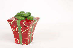 Christmas package stock photography