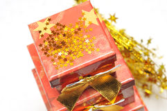 Christmas package Royalty Free Stock Images