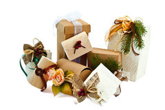 Christmas Packages 1 Royalty Free Stock Image