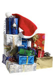 Christmas packages Royalty Free Stock Photography