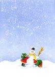 Christmas-painting3 ilustração stock
