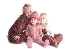 Christmas pajamas Stock Images