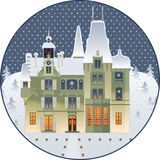 Christmas Palace Royalty Free Stock Images