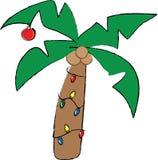 Christmas Palm Tree Royalty Free Stock Image