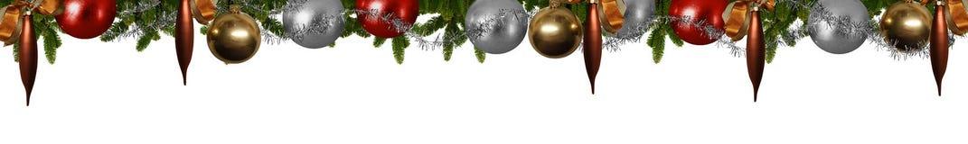 Christmas panorama Royalty Free Stock Photo