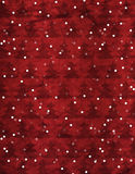 Christmas Paper Background. A Red Christmas-Themed Background with christmas trees and falling snow. The Background has a worn, weathered texture to it royalty free stock image