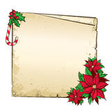 Christmas paper background Stock Photos