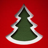 Christmas paper background texture, papercraft theme Stock Image
